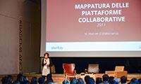 Facciamo ricerca su modello piattaforma e sulle comunità e dal 2014 mappiamo le piattaforme di sharing economy in Italia